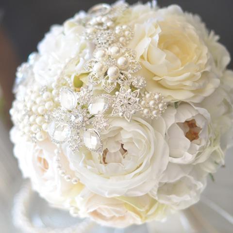ウェディングブローチブーケ - Brooch Bouquet -